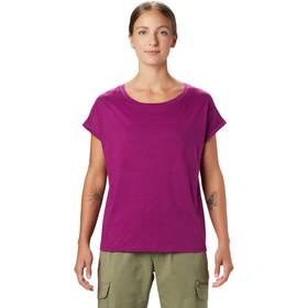 Mountain Hardwear Tomomi T-shirt Dames, roze